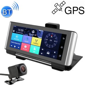7 inch Car Foldable DVR Rearview Mirror Dual Camera Driving Video Recorder Support WiFi GPS, 3G Version