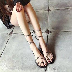 Current2019 Sandalet Roma Ayak Halka Geçişi Bandaj Kadın Daire Başkanı Geri Chalaza Kod Olacak kadın Ayakkabı