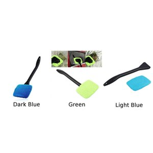 Detachable Window Brush Set Wiper Car Vehicles Household Dirt Dust Cleaner Glass Cleaning Tool Accessories