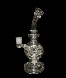 twitter bong Eggosphere smoking Water pipe Color Glass Bongs With Matrix Perc Glass recyle Oil Rigs with 14mm Joint Hookah free shipping