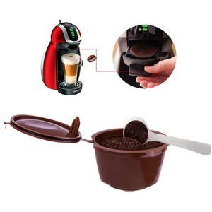 Cápsula recargable de café Dolce Gusto 2 piezas - Paquete marrón de 2
