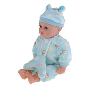 20inch Silikon Reborn İfade Baby Doll-puckered Ağız Çocuk Playmate Oyuncak