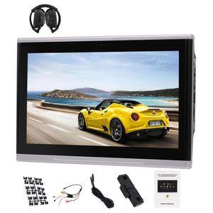 "10.1"" Android 6.0 reposacabezas monitor pantalla táctil multi HD con HDMI WIFI IR Transmisor FM USB / SD coche reposacabezas monitor es compatible con la televisión"