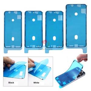 아이폰 6S 6SP 7 7P 8 8P XR X XS XSMax LCD 화면 전면 프레임 접착제 접착제 테이프 무료 DHL을위한 MOQ 50PCS 방수 스티커