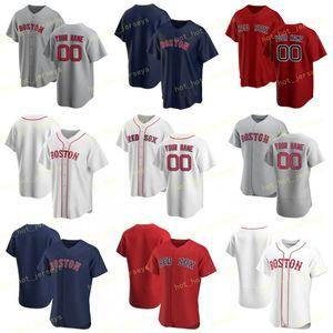 Cualquier personalizada Nombre Número 16 Benintendi 2020 del jersey de béisbol 28 41 Martínez venta 8 9 Yastrzemski Williams 2 Bogaerts 54 Cashner 15 Pedroia