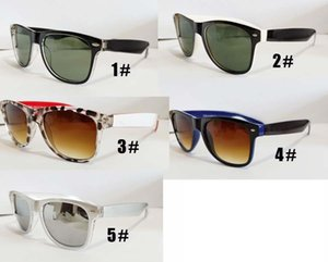 Marca da primavera novo homem moda esporte óculos de sol equitação mulheres de vidro Clássico CONDUÇÃO óculos de sol rodada praia ciclismo VIDROS 4 CORES FRETE GRÁTIS