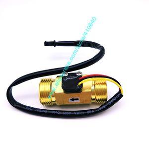 "G3 completa Material Cobre / 4"" DN20 2 a 45 l / min Circulación sensor de caudal de flujo de agua Sistema de 35 * 60 mm Longitud ENTREGA DE FÁBRICA"