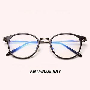 Anti Blue Ray lumière Filtre de blocage Réduit Effacer Strain numérique Eye jeu régulier ordinateur Lunettes améliorer le confort 9902