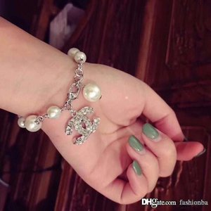 Popular fashion brand High version c designer pearl bracelets for lady Design Women Party Wedding Lovers gift Luxury Jewelry With BOX.
