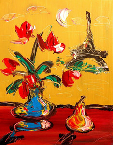 a110# PARIS IMPRESSIONIST OIL PAINTING Home Decor Handpainted &HD Print Oil Painting On Canvas Wall Art Canvas Pictures 200201