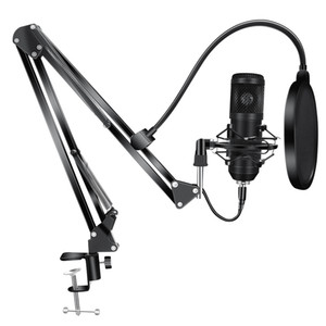 BM800 Condenser Microphone Kits BM 800 USB for Computer Karaoke Microphone Pop Filter for Sound Studio Recording Microfone Gamer
