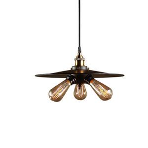Потолок Тройного Урожая Промышленного Edison свет подвеска дизайн Home Living Столовой лампа Люстра Светильник PA0284