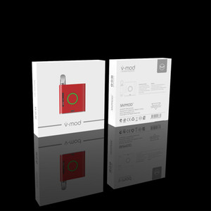 VMOD Batterie Mods Professionelle Vaping Mod 900mAh Variable Spannung vorheizen VMOD 510 Gewinde Vape Box Vorglühen Mod
