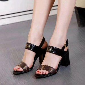 Горячие продажи супер низкие скидки женская обувь на высоких каблуках сандалии тапочка реальные кожаные высокие каблуки обуви сандалии платформы тапочка партии