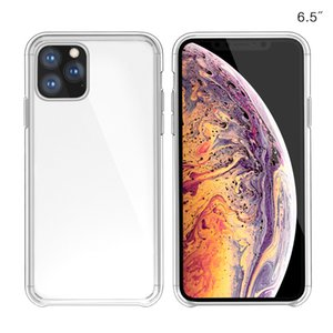 Orjinal Şeffaf Kılıf iPhone 11 Pro Max Xs Xr X Vaka Resmi Darbeye TPU Telefon Kılıfı iPhone 7 8 Artı 6s 6