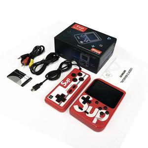 400 en Uno SUP mini portátiles consola de videojuegos portátil de doble apoyo jugadores Nostálgico jugador del juego de 3.0 pulgadas de pantalla de salida AV