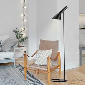 북유럽 Arne Jacobsen 디자인 AJ는 플로어 램프를 지시했다 거실 바닥 붙이기 침실 Bedside Lamp Floor Standing Light Luminaria