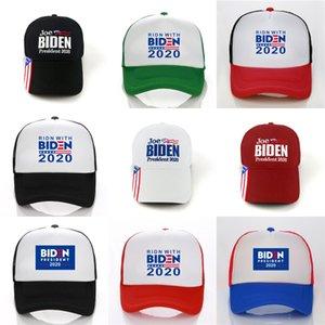 Donald Biden Hat Biden 2020 Камуфляж Флаг США Бейсболки Snapback Hat Вышивка Письмо Camo Cap Ooa7579 #892