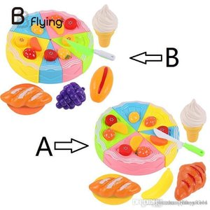 Wholesale- Kids Play House Toy Fruit Cake Kids Cake Taglio Pretend Gioca educativo