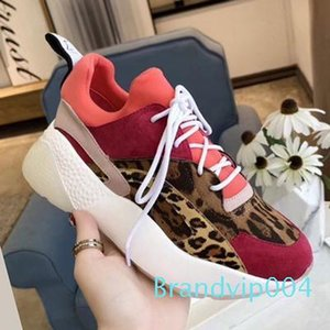 Qualidade perfeita Oficial Shoes Designer de Luxo Nova Eclypse Stella Plataforma Sneakers Moda Mccartney Womens sapatos confortáveis c20 t16