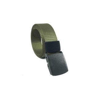 Men Outdoor Canvas Belt Hiking Camping High Quality Belt Hunting Breathable Wearable Sports Tactical Sports I0g6