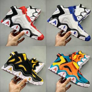 Zapatillas de baloncesto para hombre de calidad superior Air Barrage Mid QS Black HyperGrape Niños Hombres Zapatillas de deporte Zapatillas de deporte