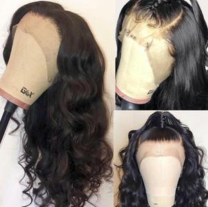 100 процентов человеческих волос парик фронта шнурка предварительно сорвал перуанский объемная волна девственные волосы дешевые полный парики человеческих волос шнурка с волосами младенца