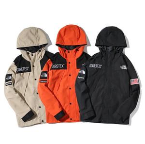 Фабрика прямой куртка куртка черный хаки оранжевый windrunner мужская спортивная одежда высокого качества водонепроницаемая ткань спортивная куртка