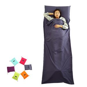 Спальный мешок Изолированные Грязный Портативный Легкий Командировка отель Открытый Путешествия Отдых Туризм спальный мешок Liner VT0167