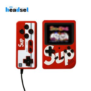 400 Games Retro Video Handheld Game Console Gamepad 2 Players Doubles 3.0 Inch Color LCD Game Player