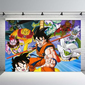 Photography Backdrops Dragonball Dragon Ball Iron Three Kingdoms Son Goku Custom Photo Backgrounds Studio Backdrops Vinyl