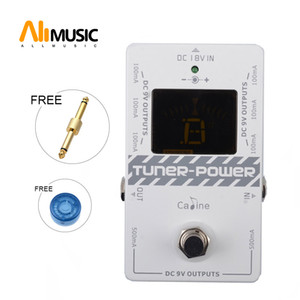 Caline CP-09 Tuner Power 2 in 1 Источник питания No Noise Effect Pedal ture Bypass for DC 9V Electric Guitar Effect Pedal