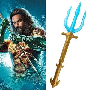 Aquaman Arthur Curry / Orin LED Trident Toy Action 피겨 Collection 코스프레 애니메이션 소품 무기 Model Toy Halloween