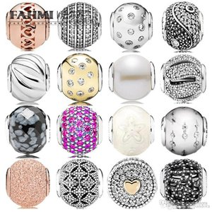 DoniA 100% 925 Sterling Silver Series Charm Bead GOOD Happiness Generous Fashion Suitable Charm Health Cubic Zirconia Silver Collection
