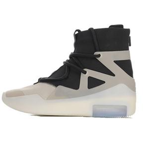 """2020 populares de diseño marca de belleza Miedo Amor de Dios """"a la pregunta"""" de la calle principal de vanguardia ocasionales de los deportes de alto tubo de zapatillas de baloncesto FOG"""
