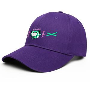 Mode Le Weeknd Cartoon XO unisexe Casquette de baseball classique frais Trucke Chapeaux Dessin Logo Or Vivid Baiser Terre Looking Visage de chat Croix Neon