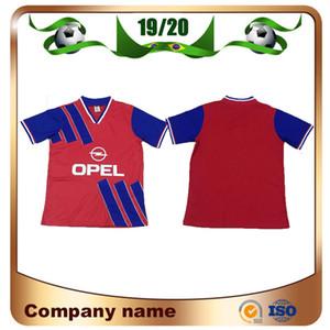 1990/1993 versione Retro Bayern maglie calcio 93/94 Bayern Casa # 10 Matthäus # 7 Scholl # 18 Klinsmann Calcio Camicia uniforme