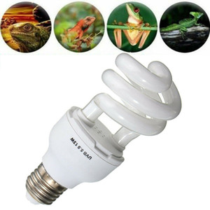13 26W Energy-saving Lamps for Pet Reptile UV Lamp UVB 5.0   10.0 Light Bulb Calcium for Lizard Terrarium