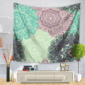Mandala Tapestry Wall Hanging Sandy Beach Throw Rug Blanket Camping Tent Travel Mattress Sleeping Pad Hippie Mandala Tapestry