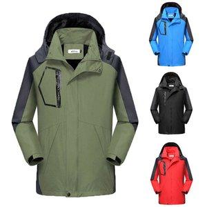 Erkekler Kış Sıcak Kayak Kar Tırmanışı Doğa Su geçirmez Spor Ceket Açık Coat Yürüyüş Kayak Erkek ceketler
