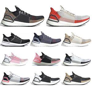 Adidas Ücretsiz çorap 2019 Ultra boost 5.0 Ultraboost Koşu ayakkabıları Temizle Kahverengi Aktif Turuncu siyah pembe erkek kadın spor eğitmeni sneake 36-45