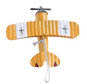 Aereo Decor Hanging Aereo Ornamento Vintage mini dell'aeroplano del metallo Giocattoli Tatuaggi Model Aircraft Biplano sospensione i ragazzi in camera, Photo Pro