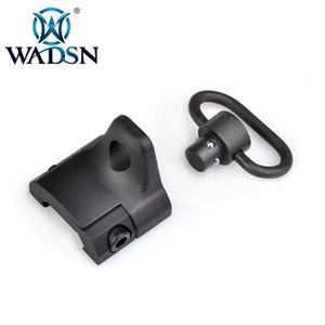 WADSN Tactical Mão-Stop Com QD Sling Swivel Mounts GS engrenagem Sector Ferroviário Mount 20 milímetros Weaver Rails Base de ME04008 caça Optics