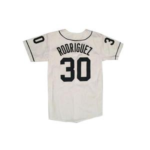 Throwback Mike Vitar Benny 'The Jet' Rodriguez 30 baseball Jersey I ragazzi vincenti Film Jersey libera Spedito fabbrica all- Buono Qual