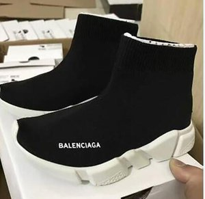 2020 Fashion Baby Kids Shoes Socks Boots Children Slip-On Casual Flats Speed Trainer Sneakers Boy Girl High-Top Running Shoes men shoes