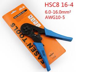 Бесплатная доставка FASEN щипцы плоскогубцы HSC8 16-4 Регулируемый обжимной инструмент для 6.0-16.0mm2 (AWG10-5) Кабельных оконцевателей провода VE клемм-