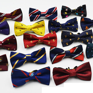 Boys Grils Baby Children Bow Tie Fashion cartoon Solid Color ties baby girl boy ties wholesale