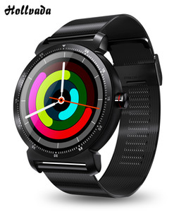 2020 Smart Watch Men Sport Bracelet Wristband Blood Pressure Heart Rate Monitor HD Round Screen Connect Android IOS K88H Plus