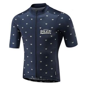 2019 Morvelo Racing respirable del verano Ciclismo Hombre Ropa Tops bicicletas MTB bicicleta arropa la manga corta Jersey Ropa De
