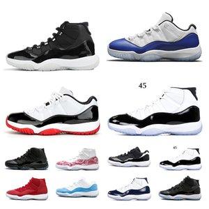 nike air jordan retro LuftJordanRetro 11 Original 11s Basketball Schuhe atmungsaktive Laufschuhe Cap und Gown Concord High 45 Sport Turnschuhe
